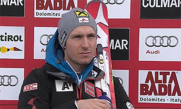 Marcel Hirscher (AUT) gewann 2013 den Riesenslalom in Alta Badia