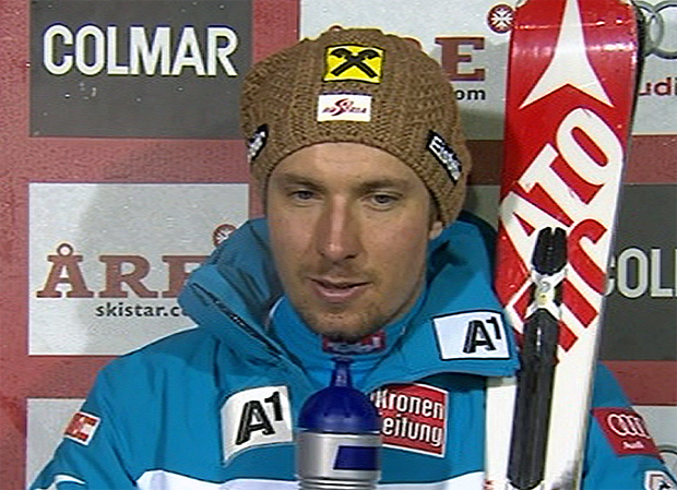 Halbzeitführung für Marcel Hirscher beim Riesenslalom der Herren im schwedischen Åre