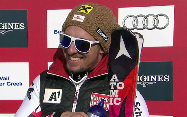 SKI WM 2015: Marcel Hirscher ist Kombinations-Weltmeister 2015