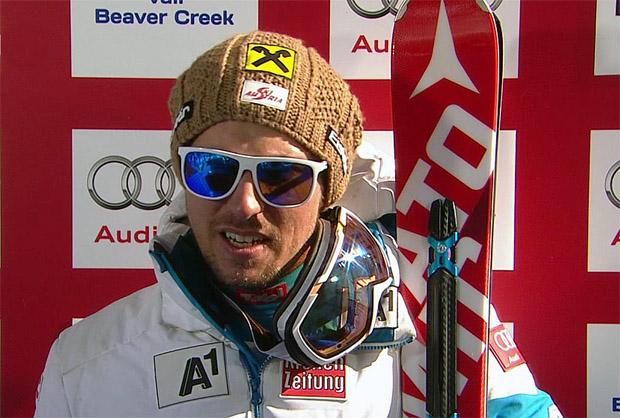 Marcel Hirscher führt beim WM-Riesenslalom, Ligety in Lauerstellung