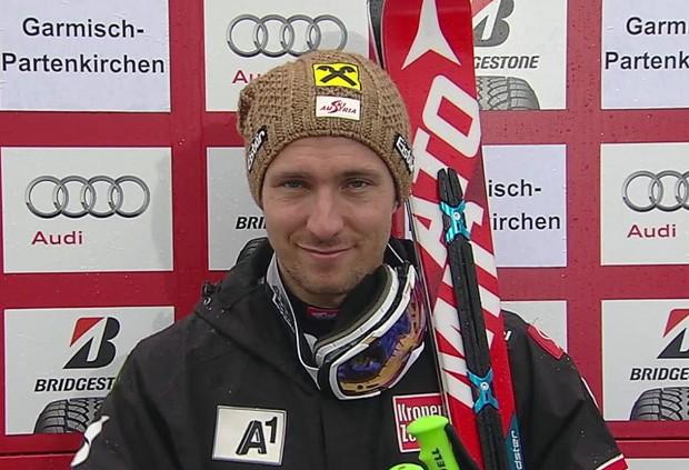 Hirscher deklassiert RTL-Konkurrenz im ersten Lauf von Garmisch