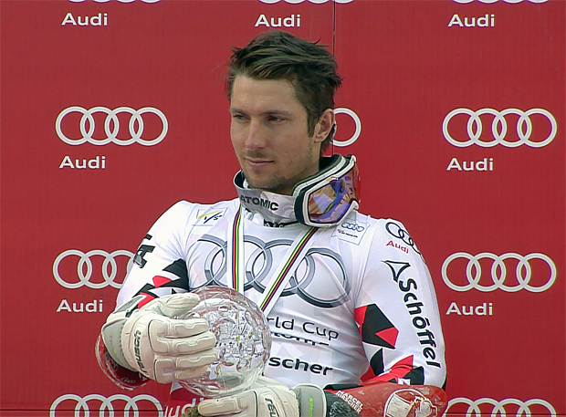 Gesamtweltcupsieger Marcel Hirscher