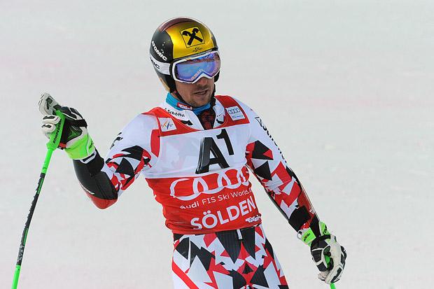 © Ch. Einecke (CEPIX)  / Marcel Hirscher startet mit Platz 3 in die neue Saison