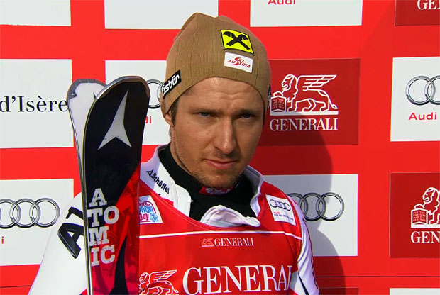 ÖSV NEWS: Hirscher nach Aufholjagd 2. in Val d'Isere-Slalom