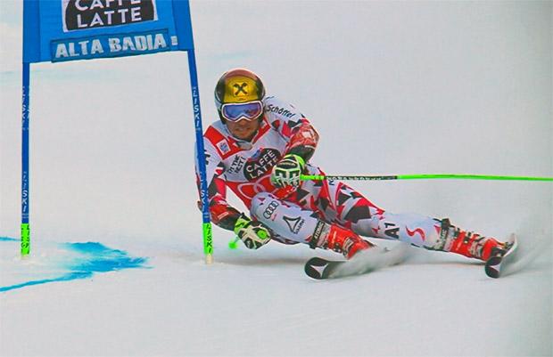 ÖSV NEWS: Hirscher-Hattrick im Riesentorlauf von Alta Badia