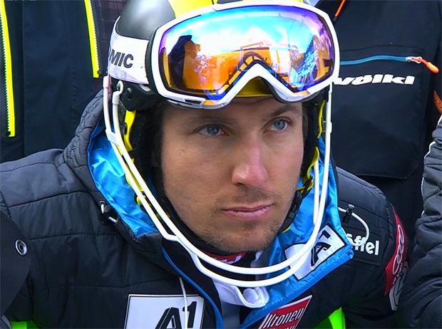 Ein Meter Neuschnee ist auch für Marcel Hirscher zu viel