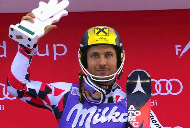 Marcel Hirscher gewinnt Slalom von Santa Caterina