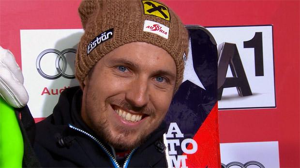 Marcel Hirscher stürmt im Finale vom 22. auf den 2. Rang vor