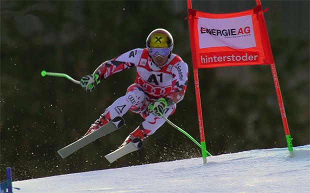 Marcel Hirscher fuhr zum Auftakt der Heimrennen in Hinterstoder auf Rang zwei.