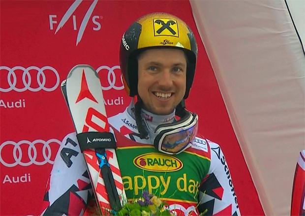 Marcel Hirscher gewinnt Kranjska-Riesentorlauf