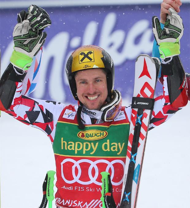 "© Kraft Foods / Christian Höflehner: ""Marcel Hirscher bleibt das Maß aller Dinge im Skisport"""