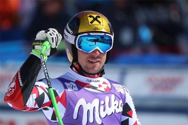 © Kraft Foods  /  Marcel Hirscher überzeugt mit Platz 5 beim Super-G von St. Moritz