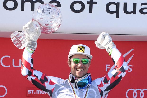 © Ch. Einecke (CEPIX) / Gesamtweltcupsieger Marcel Hirscher schreibt weiter Skigeschichte