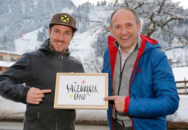Seit Herbst 2015 wirbt Marcel Hirscher als Testimonial für das SalzburgerLand. (Bild: SalzburgerLand.com)