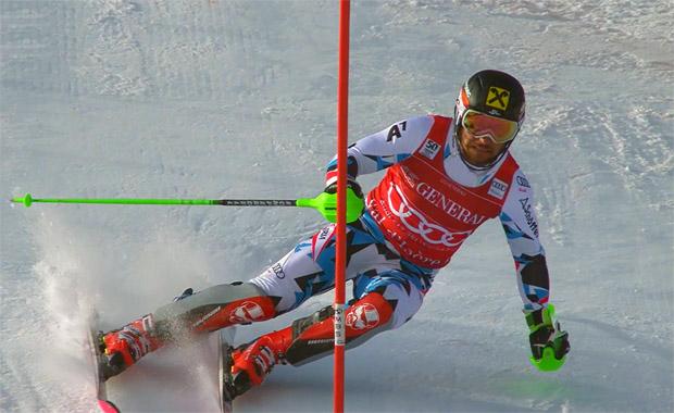 An diesem Wochenende: Marcel Hirscher mit zwei zweiten Plätzen!