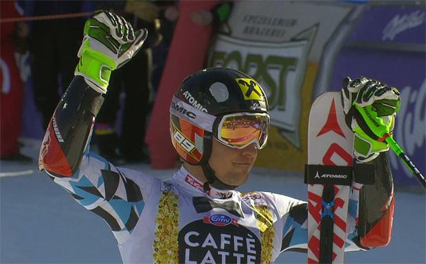 Triumph für Marcel Hirscher beim Riesentorlauf in Alta Badia
