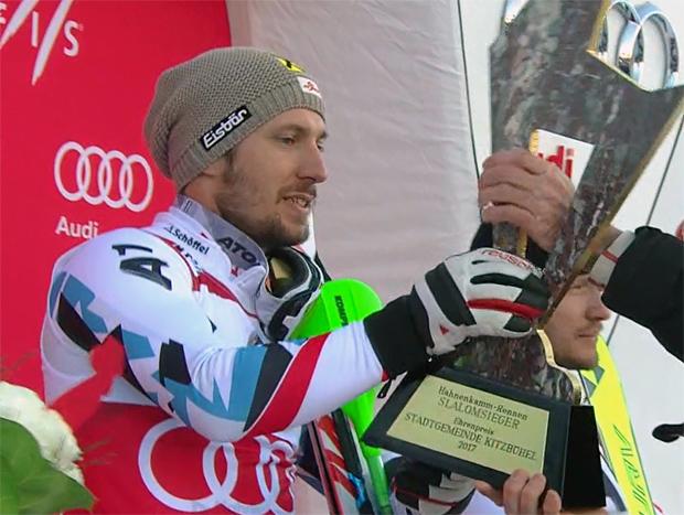 ÖSV NEWS: Goldene Gams für Marcel Hirscher