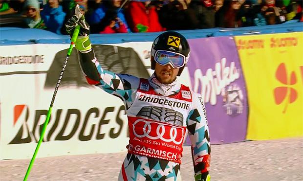 Marcel Hirscher hat bereits zwei Weltcup-Riesentorlaufrennen in Garmisch-Partenkirchen gewonnen, 2015 und 2017.