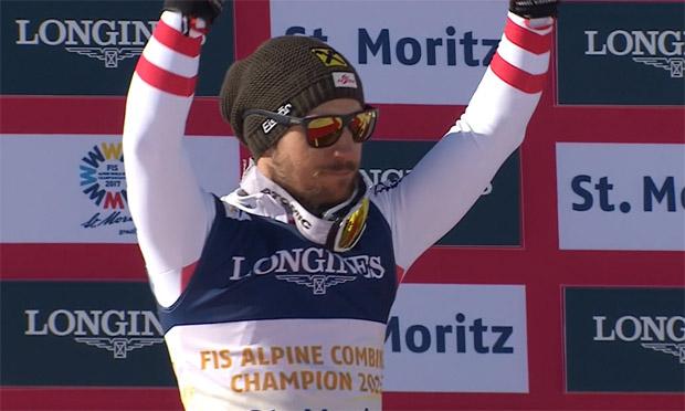 SKI WM 2017 - Alpine Kombination:  Silber-Kombimann Marcel Hirscher im Portrait