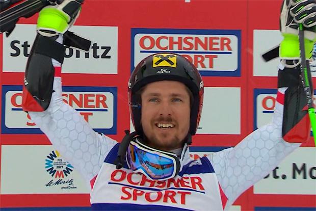 Trotz Schneetreiben war der Weg von Marcel Hirscher zu WM-Riesenslalom-Gold frei