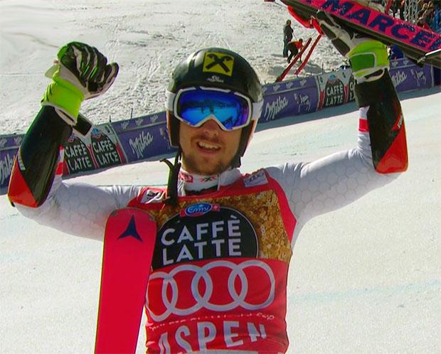 Marcel Hirscher triumphiert auch beim Riesenslalom in Aspen