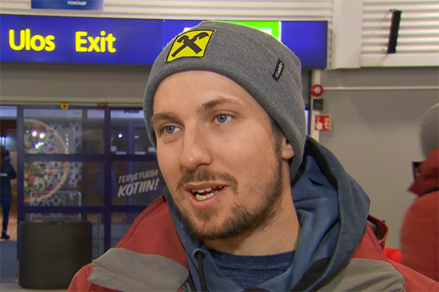 Marcel Hirscher ist beim Slalom-Weltcupauftakt in Levi dabei.