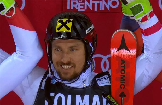 """""""Mr. Unschlagbar"""" Marcel Hirscher gewinnt den Slalom von Madonna di Campiglio"""