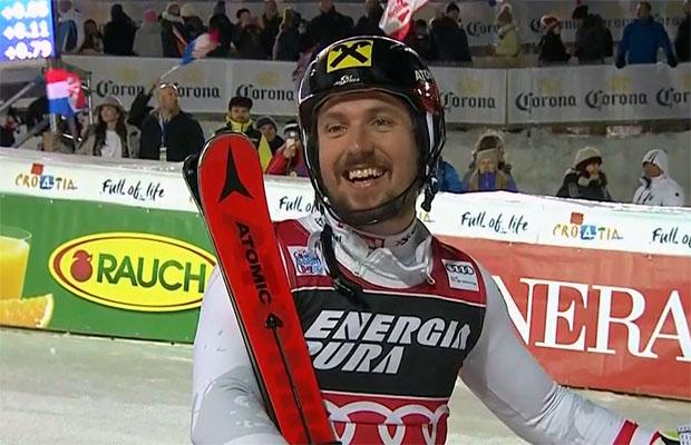 Marcel Hirscher feiert in Zagreb seinen 50. Weltcupsieg
