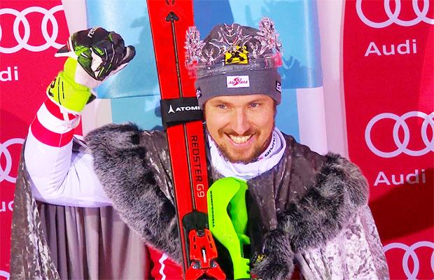 Marcel Hirscher avanciert zum Snow King von Zagreb