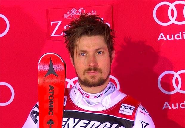 Marcel Hirscher führte einen Österreichischen Doppelsieg vor Michael Matt an.