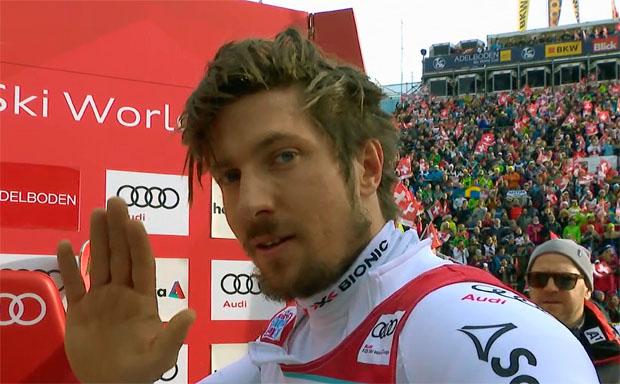 Marcel Hirscher übernimmt Führung beim Slalom von Adelboden nach dem 1. Durchgang