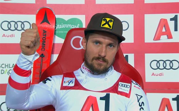 Marcel Hirscher übernimmt Führung beim Night-Race in Schladming