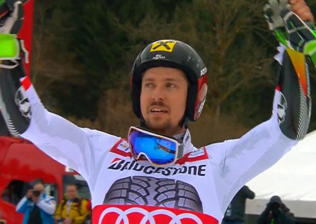 Marcel Hirscher gewinnt Riesenslalom 2018 in Garmisch-Partenkirchen