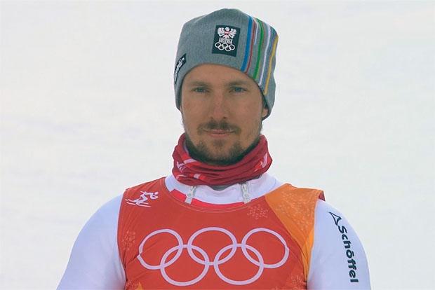 Marcel Hirscher hat bei der Alpinen Kombination in Pyeongchang (KOR) die Olympiagoldmedaille gewonnen.