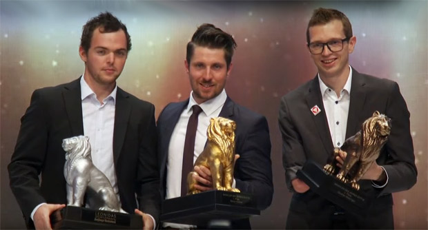 Matthias Walkner, Marcel Hirscher und Günther Matzinger