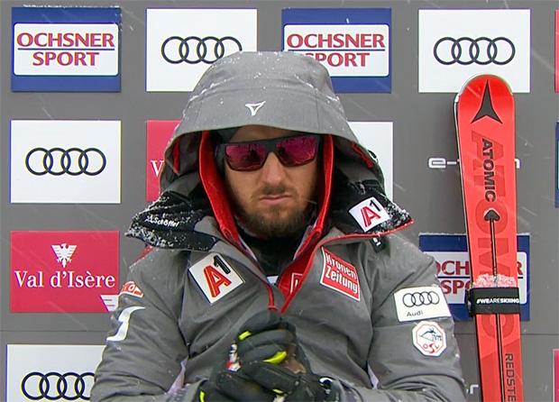 Marcel Hirscher mit Erkältung in Are eingetroffen.