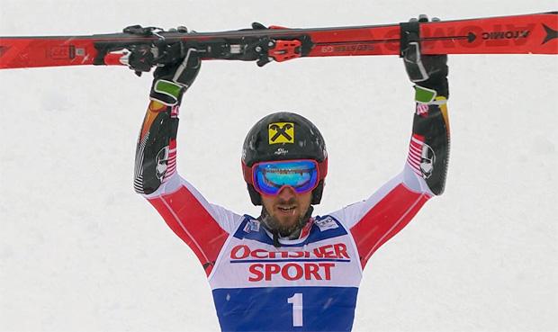 Marcel Hirscher gewinnt Riesenslalom in Val d'Isere 2018