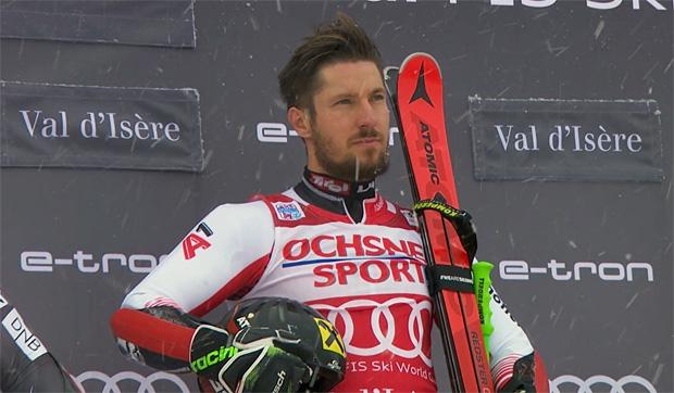 Marcel Hirscher gewinnt Riesenslalom in Val d'isere