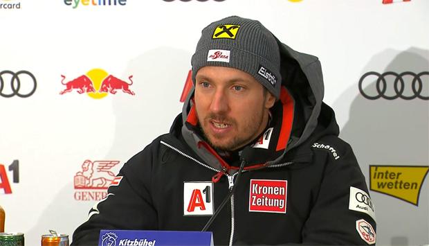 Kitzbüheler Skiclub zieht zum Karriereende von Marcel Hirscher den Hut.