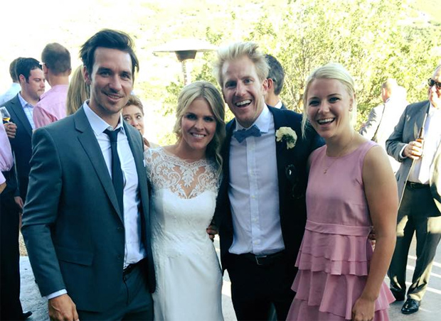 © Felix Neureuther: Ladies and gentlemen...  Mr. and Mrs. Ligety!!! Ich gratuliere euch von Herzen!