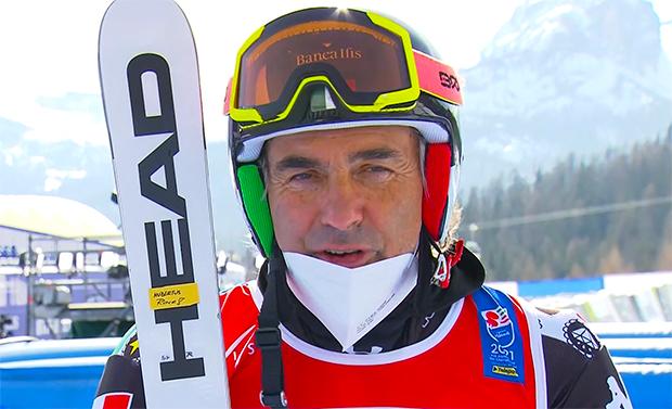 Ski-WM 2021: Hubertus von Hohenlohe gibt niemals auf