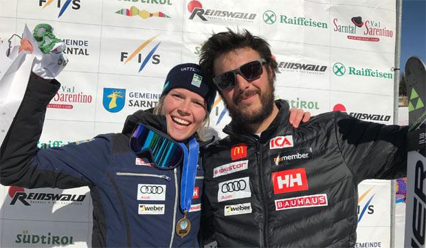 Schwedin Hörnblad siegt auf der Plankenhorn