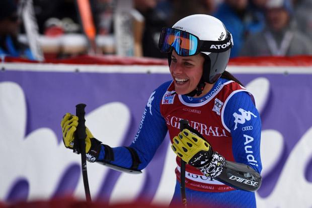 © Archivio FISI / Anna Hofer krönt starken SUPER-G in Val d'Isère mit Platz zehn