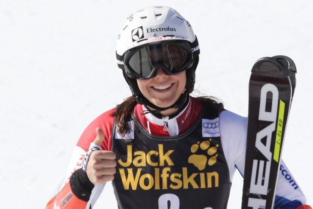 © Gerwig Löffelholz / Gewinnerin Frauen U21:  Wendy Holdener (SC Drusberg)