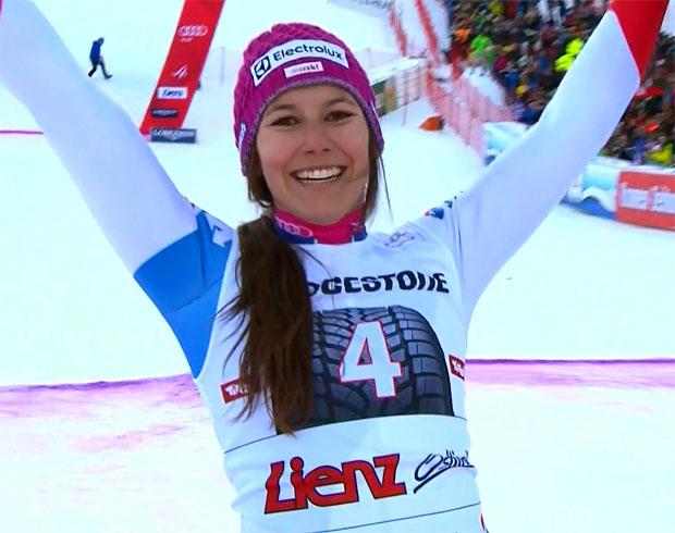 Wendy Holdeners erster Weltcupsieg ist nicht mehr weit