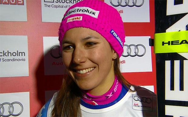Wendy Holdener gewinnt ihr erstes Weltcuprennen in Stockholm