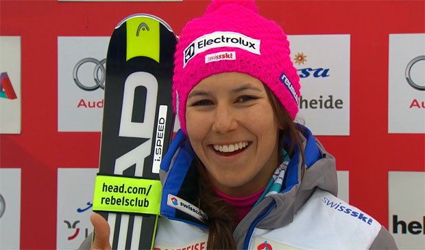Wendy Holdener kürt sich zur Schweizer Slalomkönigin 2016