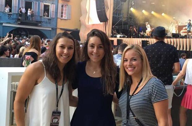 Wendy Holdener, Sofia Goggia und Lara Gut (Foto: Wendy Holdener / Facebook)