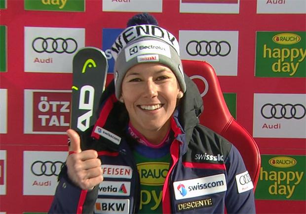 Swiss-Ski-Girl Wendy Holdener überzeugt mit Platz sechs