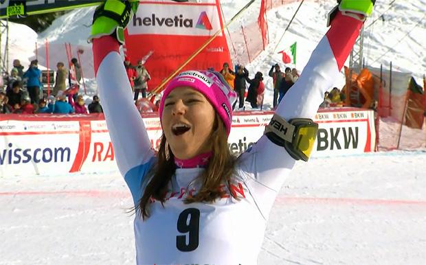Wendy Holdener gewinnt Alpine Kombination in Lenzerheide